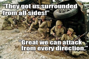 military-humor-funny-surrounded-attack-soldiers-meme