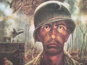 """ Thousand Yard Stare"" by Thomas C. Lea III"