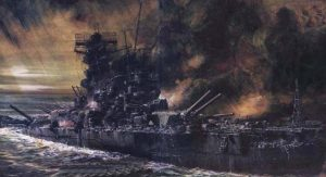 IJN Musashi (artist unknown)