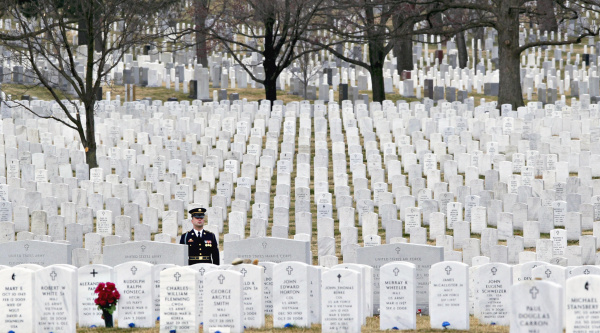 Image result for the guardian u k arlington cemetery