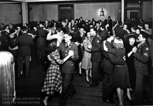 USO Dance, Washington